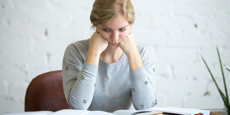 College student tired of researching scholarships